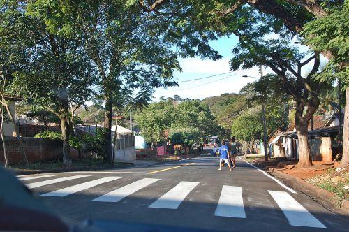 Empresa termina recape e pinturas em ruas de São Tomé