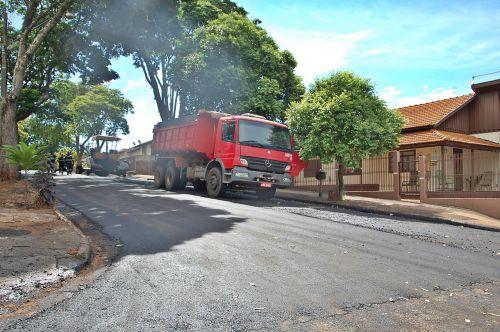 Administração continua com a revitalização de ruas