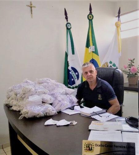 Administração de São Tomé distribui 4.500 mascaras para a população