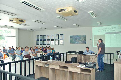 Executivo e legislativo prestam contas em audiência publica