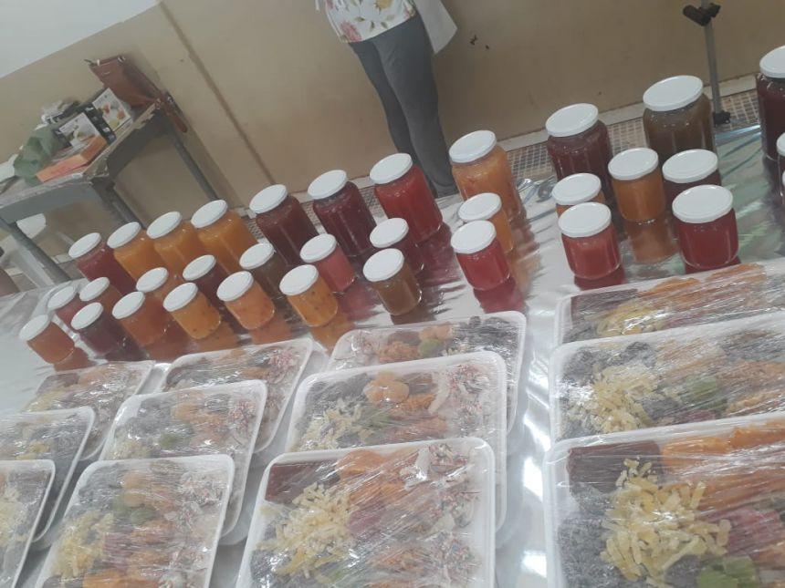 Curso - Produção Artesanal de Alimentos - conservação de frutas e hortaliças - geleias, doces de corte e doces pastosos
