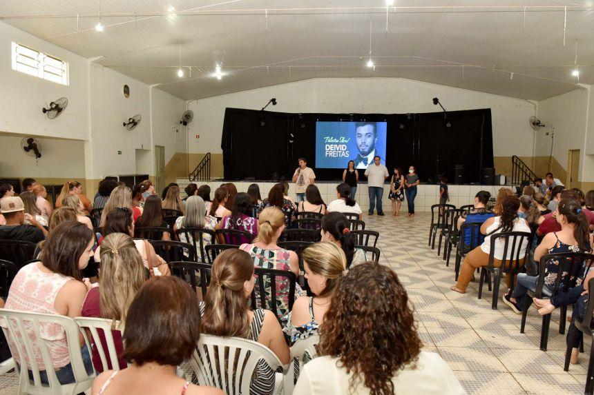 INÍCIO DA SEMANA PEDAGÓGICA  COM OS PROFESSORES DA REDE MUNICIPAL DE ENSINO