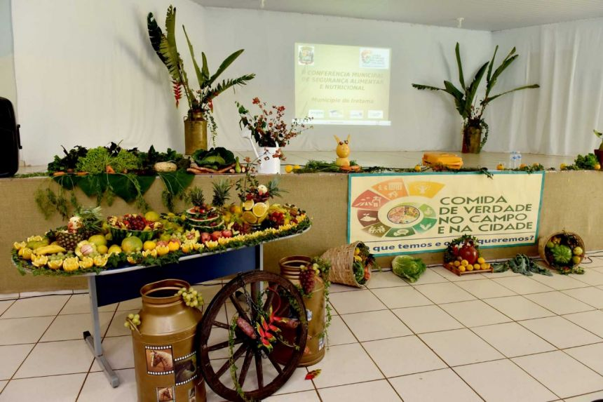 II Conferência Municipal de segurança Alimentar e Nutricional.