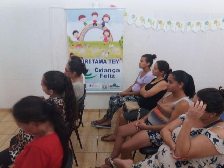 Reunião com Gestantes do Programa Criança Feliz