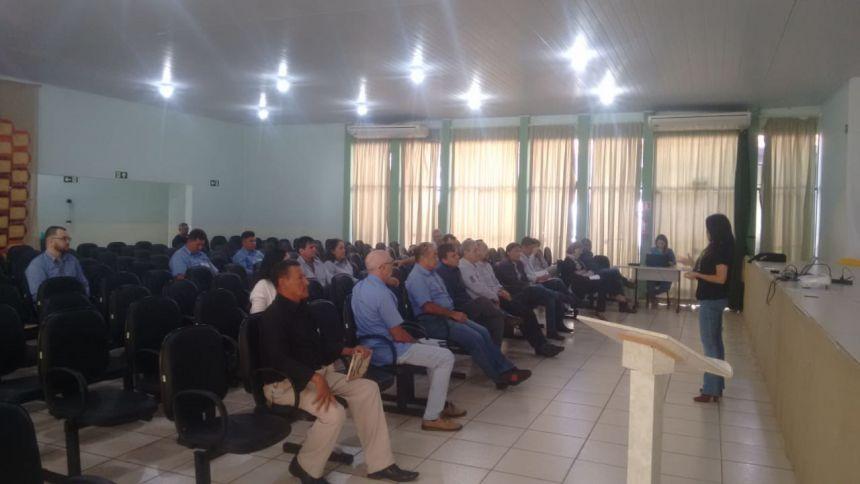 58º. Reunião da Câmara Técnica da Seda sediada no Município de Iretama - PR.