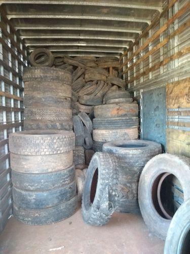 Programa de Logística Reversa destina cerca de 2.000 pneus para reciclagem no município de Iretama