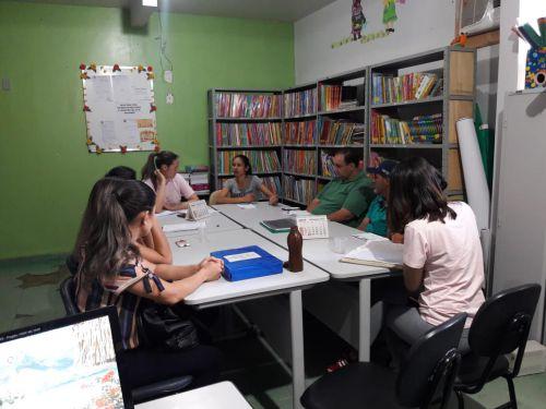 REUNIÃO COM OS MEMBROS DO CONSELHO DA ALIMENTAÇÃO ESCOLAR
