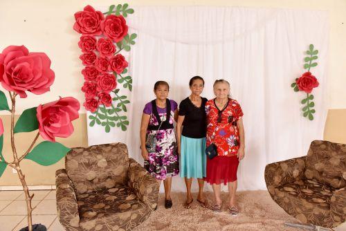 Homenagem ao dia das Mães da Terceira Idade
