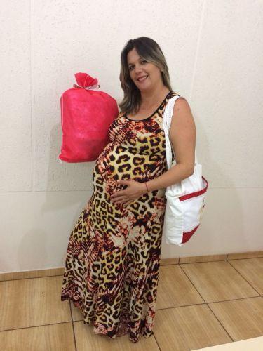 Entrega de Enxovais para futuras mamães que participam dos Programas: Criança Feliz e Mamãe & Bebê