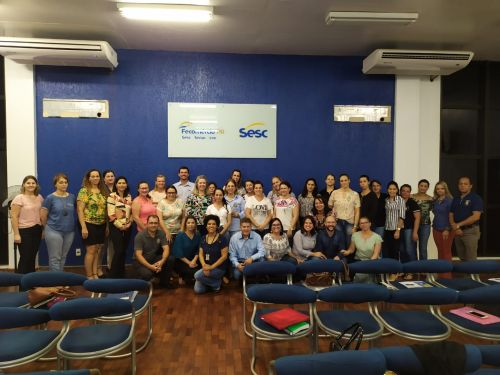 Participação Reunião no SESC