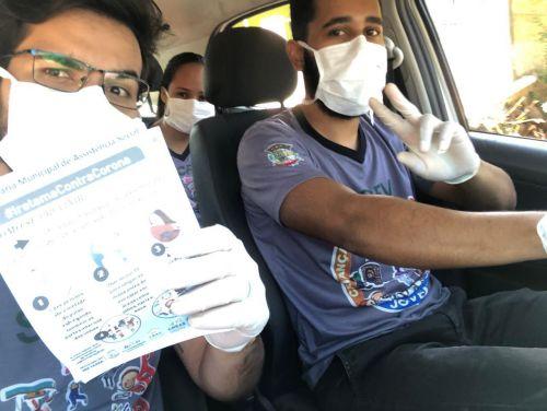 Atendimento da Secretaria Municipal de Assistência Social em Combate ao Corona Virus