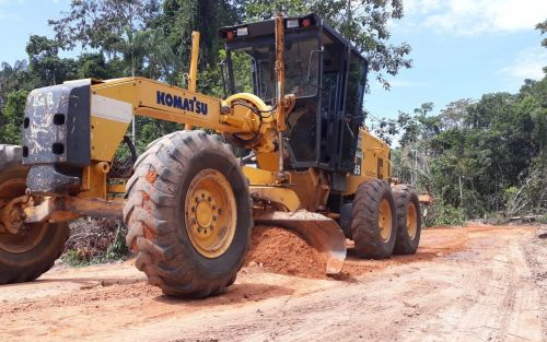 TRABALHO é fiscalizado de perto pela Secretaria de Obras e garantirá resultados positivos para os moradores de São Lourenço