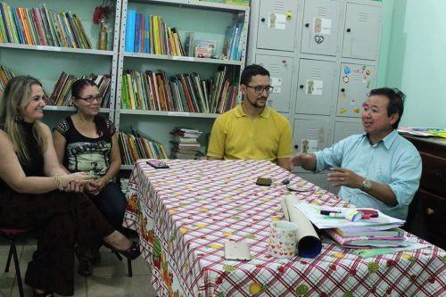 Felipe Rocha recebe R$ 20 mil para construção de parque através de emenda do deputado estadual Anderson Pereira