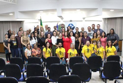Palestra de cuidados com a saúde mental sensibiliza público na Prefeitura de Vilhena