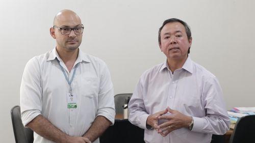 Em vídeo, prefeito e diretor clínico do Hospital Regional desmentem boatos sobre coronavírus