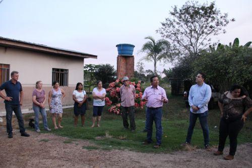 EM VISITAS a produtores rurais Luizinho e Japonês revelam os investimentos que estão para acontecer na região
