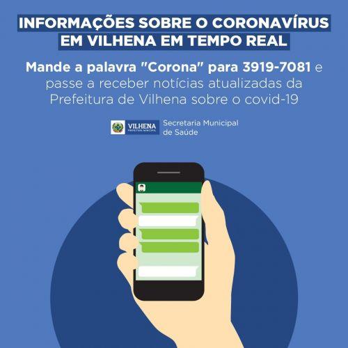 BOLETIM PMV Nº 09 - 24/03/20 - CORONAVÍRUS (COVID-19)