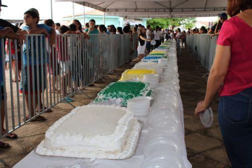 ALEGRIA NA PRAÇA: festa reuniu milhares de pessoas e contou com diversas atrações