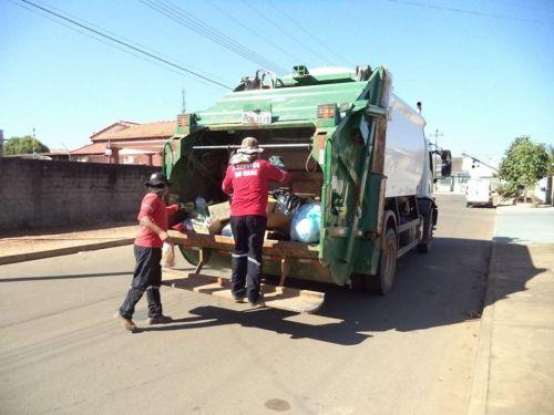 COLETA de resíduos passa também a atender o residencial Maria Moura a partir desta semana