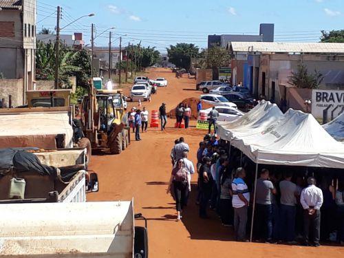 Lançada a pavimentação da avenida Rondônia: veja detalhes da obra