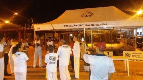 Vilhena recebe etapa da 6ª edição do Circuito Nacional de capoeira