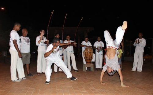 GERALDÃO é palco de diversas atividades de capoeira na cidade