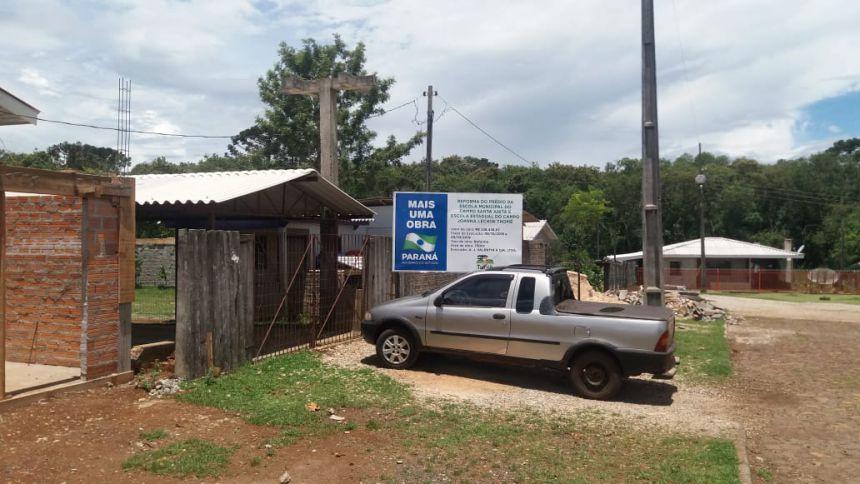 REFORMA NA ESCOLA MUNICIPAL DO CAMPO SANTA ANITA - SAUDADE