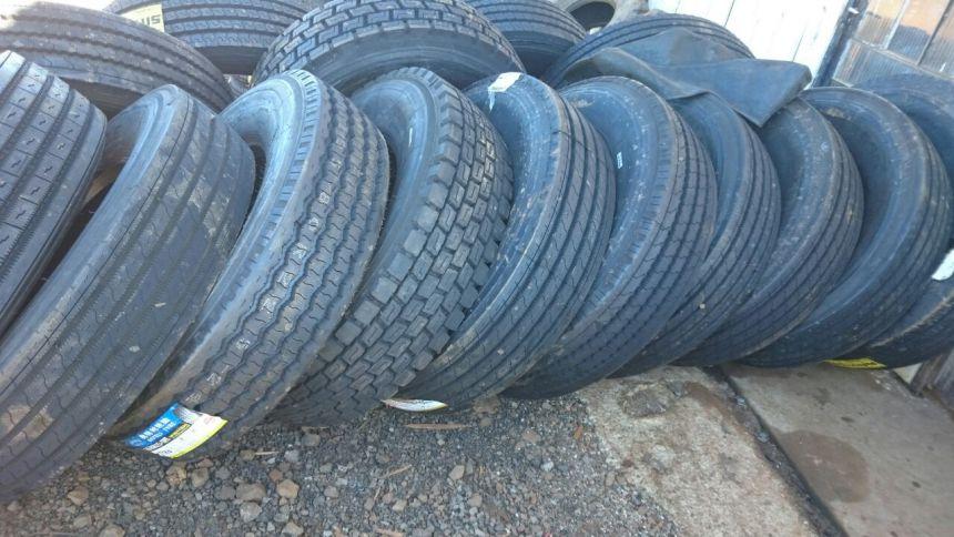 Prefeitura recebeu 180 pneus da Receita Federal