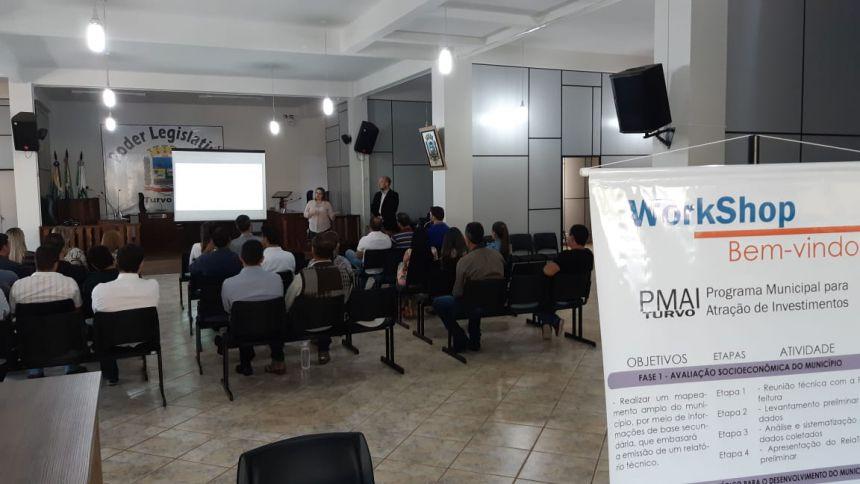 Poder Público e sociedade civil organizada se unem para discutir projetos de desenvolvimento para Turvo