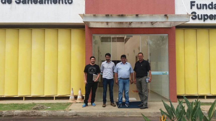 Visita ao Consorcio Intermunicipal de Saneamento Ambiental