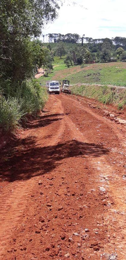 Obras nas estradas rurais em janeiro