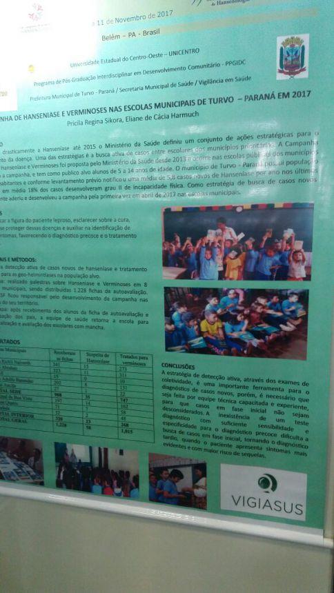 Congresso e parceiras no Maranhão para diagnóstico de hanseníase
