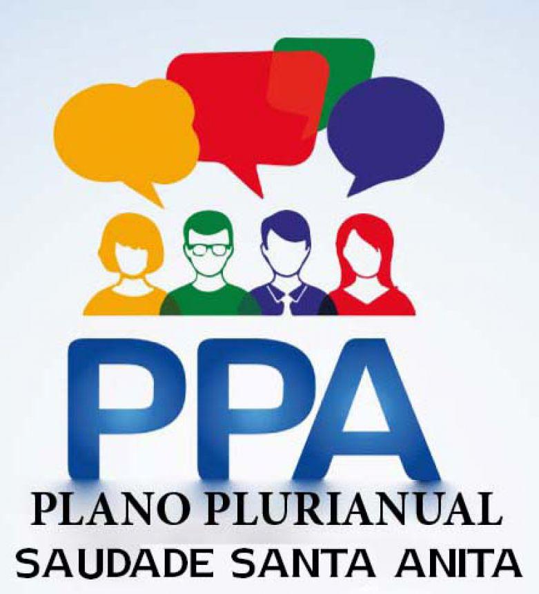 Hoje haverá Audiência Pública do PPA na Saudade Santa Anita
