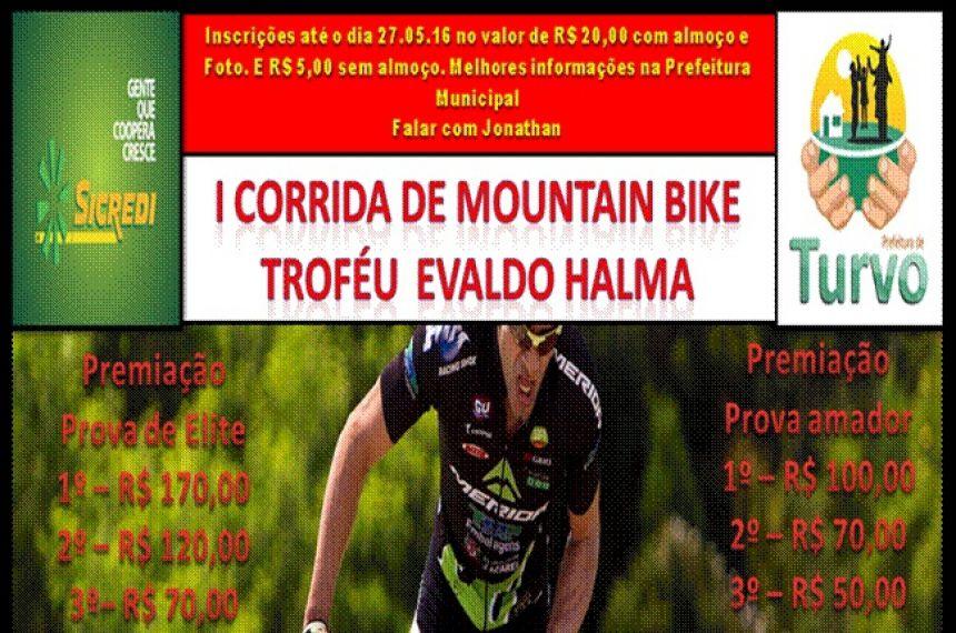 Inscrições abertas para I Corrida de Mountain Bike