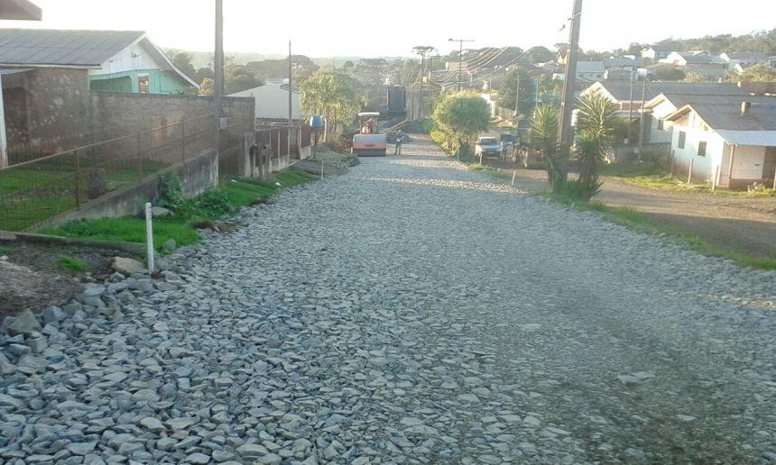 Pavimentação Asfáltica na Avenida Moacir Julio Silvestri