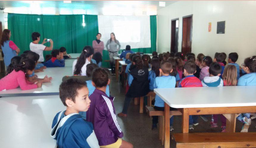Campanha Nacional de Hanseniase e Verminoses nas Escolas
