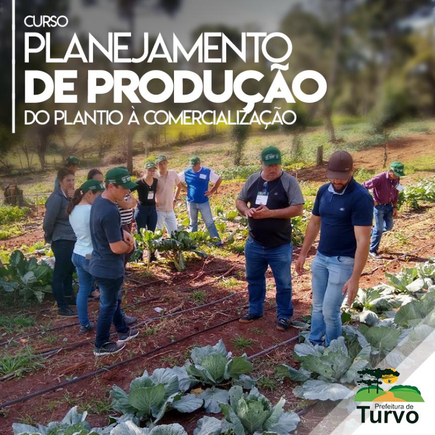 Curso realizado pela Prefeitura capacita produtores de hortaliças