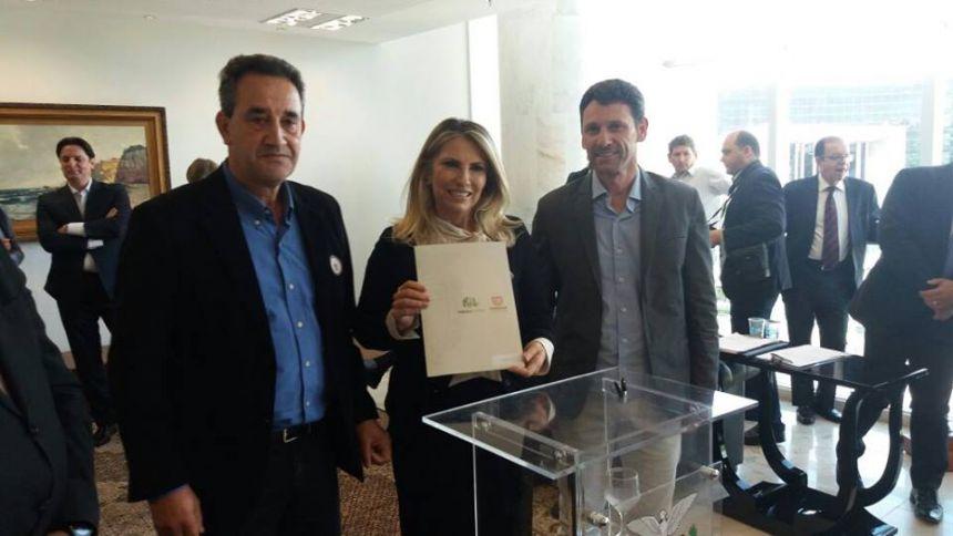 Governadora Cida Borghetti em Turvo