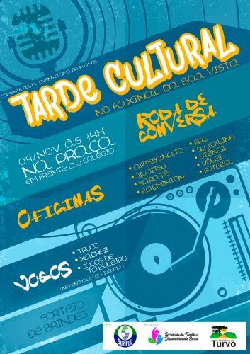 Prefeitura promove mais uma edição da Tarde Cultural, na comunidade da Faxinal da Boa Vista