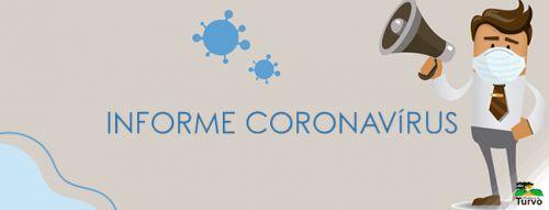 A Secretaria Municipal de Saúde confirma o primeiro caso de coronavírus no município