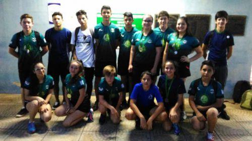Campeonato Paranaense de tênis de mesa contou com atletas Turvenses