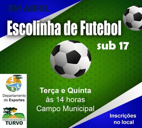 Escolinha de Futebol Sub17