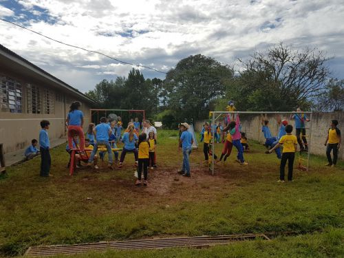 Novo parquinho da Escola Saudade Santa Anita faz sucesso com as crianças!!
