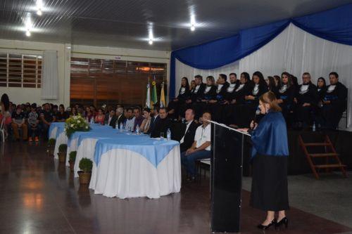 Cerimônia de conclusão dos cursos técnicos profissionalizantes nessa sexta-feira (01)