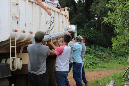Programa Caixa D′Água Boa beneficia 20 famílias em Turvo