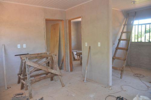 Moradias rurais estão em fase final de construção