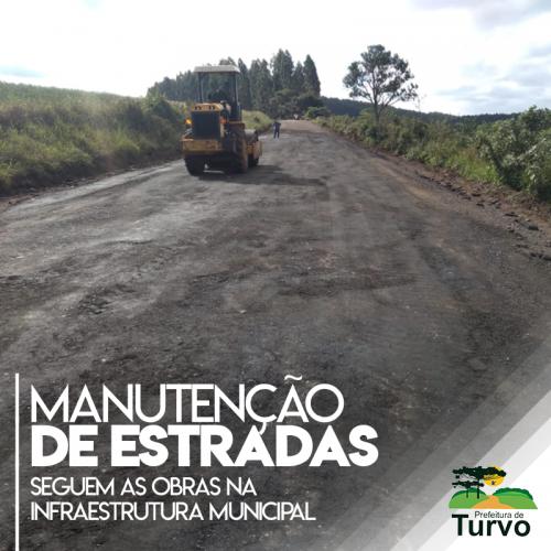 Obras de manutenção da estrada João Maria de Jesus