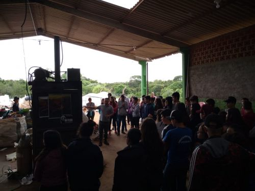 Alunos do Colégio Edite visitam a Central de Tratamento de Resíduos em Turvo