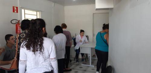 Primeiro dia de ação da Campanha Outubro Rosa teve cerca de 140 atendimentos na sede
