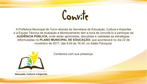 Audiência Publica de Educação